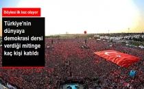 5 Milyon Kişi Dünyaya Demokrasi Dersi Verdi