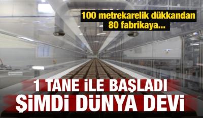 80 fabrika 60 bin istihdam! Türkiye'nin küresel yıldızı