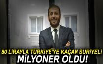 80 Lirayla Türkiye'ye Kaçan Suriyeli'nin Başarısı