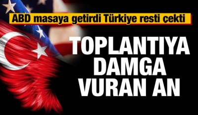 ABD masaya getirdi Türkiye resti çekti!