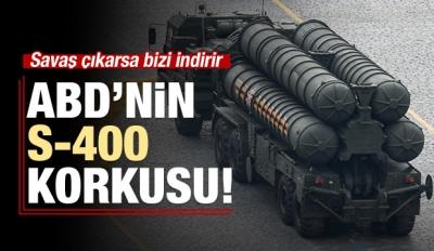 ABD: Savaş çıkarsa S-400 bizi indirir