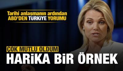 ABD'den Türkiye açıklaması: Harika bir örnek
