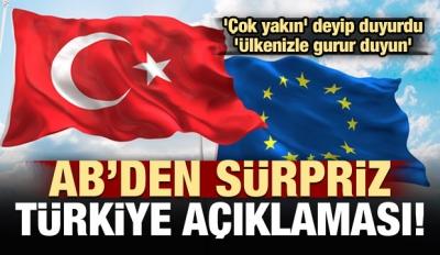 AB'den Türkiye'ye müjde! 'Çok yakınız...'