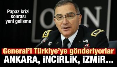 ABD'nin Avrupa komutanı Türkiye'ye geliyor!