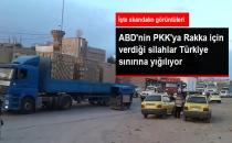 ABD'nin PKK/PYD'ye Verdiği Ağır Silahlar Kamışlı'da Görüntülendi