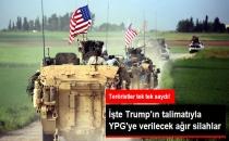 ABD'nin Terör Örgütü YPG'ye Hangi Silahları Vereceği Belli Oldu