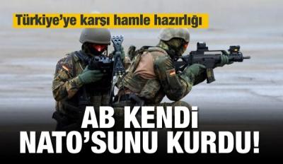 AB'nin NATO'su PESCO'dan Yunanistan'ı koruma hamlesi