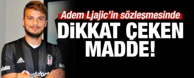 Adem Ljajic'in Sözleşmesinde Dikkat Çeken Madde