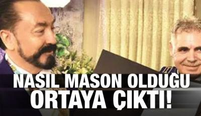 Adnan Oktar'ın nasıl mason olduğu ortaya çıktı!