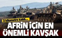 Afrin İçin En Önemli Kavşak! 3 KM Kaldı...