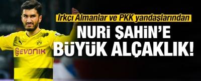 Afrin mesajı sonrası Nuri Şahin'e büyük alçaklık!
