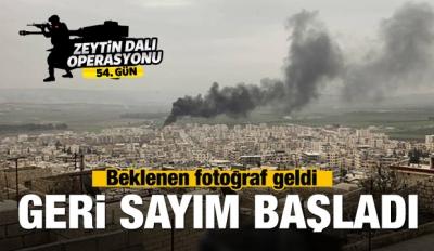 Afrin'den beklenen fotoğraf geldi!