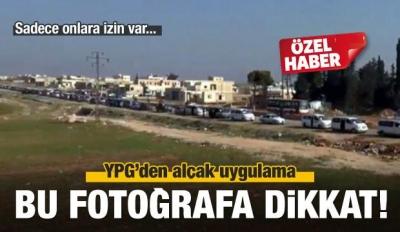 Afrin'den kaçış başladı: Ama sadece onlar....