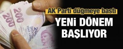 AK Parti düğmeye bastı! Yeni dönem başlıyor...