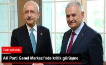 AK Parti Genel Merkezin'de Kritik Görüşme!