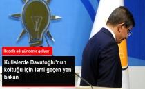 AK Parti'de Davutoğlu'nun Koltuğu İçin Kulislerde Adı Geçen Yeni İsim