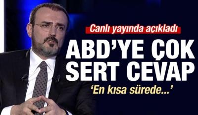 AK Parti'den ABD'ye çok sert cevap
