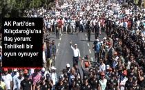 AK Parti'den Kılıçdaroğlu'nun Adalet Yürüyüşüne Sert Yorum: Tehlikeli Bir Oyun Oynuyor
