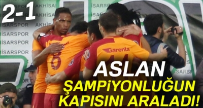 Akhisar 1- 2 Galatasaray (Maç Sonucu)