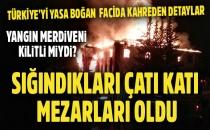 Aladağ'daki Yangında Kahreden Detay: Öğrenciler Alevlerden Kaçıp Çatı Katında Sıkıştı | Son Dakika