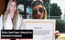 Aleyna Tilki'ye Özenen İrem Derici Kendisine Karne Yaptırdı