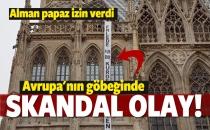 Alman rahip izin verdi PKK kilisede eylem yaptı