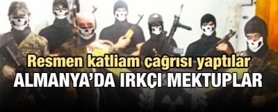 Almanya'da Türklere ırkçı tehdit mektupları