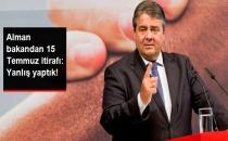 Almanya'dan 15 Temmuz İtirafı: Bu Konuda Yanlış Yaptık