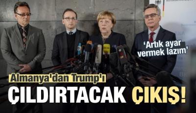 Almanya'dan Trump'ı çıldırtacak çıkış!