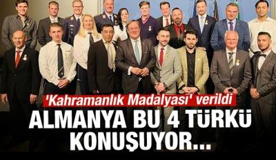 Almanya'nın konuştuğu 4 Türk