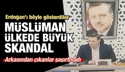 Arap dünyasında Erdoğan'ı böyle gösterdiler!