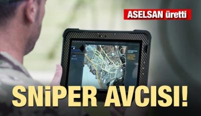 Aselsan Üretti! Sniper Avcısı