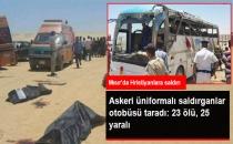 Askeri Üniforma Giymiş Saldırganlar, Hristiyanları Taşıyan Otobüsü Taradı: 23 Ölü, 25 Yaralı
