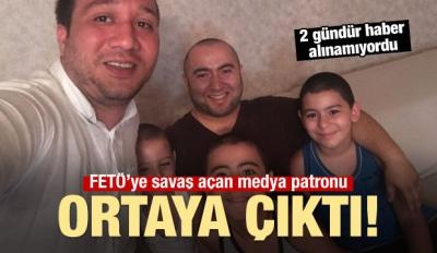 Azerbaycanlı kayıp medya patronundan haber geldi!