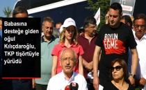 Babasına Desteğe Giden Kerem Kılıçdaroğlu TKP'nin Sloganıyla Yürüdü