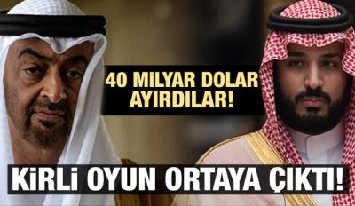 BAE ve Suudi Arabistan'dan PKK oyunu!