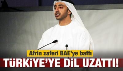 BAE'den küstah Türkiye açıklaması