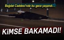 Bağdat Caddesi'nde Feci Kaza! Kimse Bakamadı...