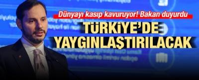 Bakan açıkladı! Türkiye'de yaygınlaştırılacak