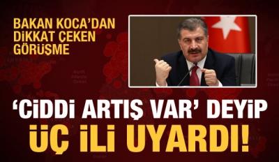 Bakan Koca'dan Dikkat Çeken Görüşme! Türkiye'de Koronavirüs Bilançosu Ağırlaşıyor...