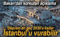 Bakan Özhaseki: Deprem En Geç 2030'a Kadar İstanbul'u Vurabilir