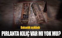 Bakanlık'tan Pırlanta Kılıç Açıklaması!