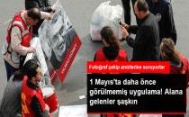 Bakırköy'de Tüm Pankartlar Fotoğraflanıyor, Amirler Onay Verirse İçeri Alınıyor