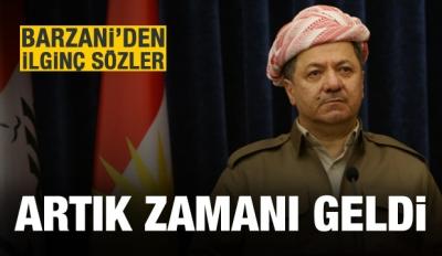 Barzani: Cevap vermenin zamanı geldi