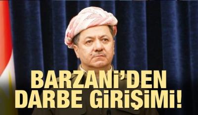 Barzani'den darbe girişimi