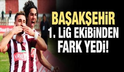 Başakşehir, 1. Lig ekibinden fark yedi!