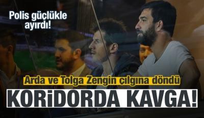 Başakşehir-Beşiktaş maçında şok kavga!