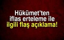 Başbakan Yardımcısı Recep Akdağ Açıkladı: İflas Erteleme Kalkıyor...