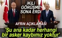Başbakan Yıldırım: 'Şu ana kadar herhangi bir asker kaybımız yoktur'