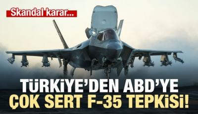 Başbakan'dan ABD'ye F35 tepkisi